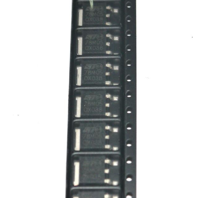 10pcs 78M05 MC78M05 LM78M05 0.5A +5V Voltage Regulators hym