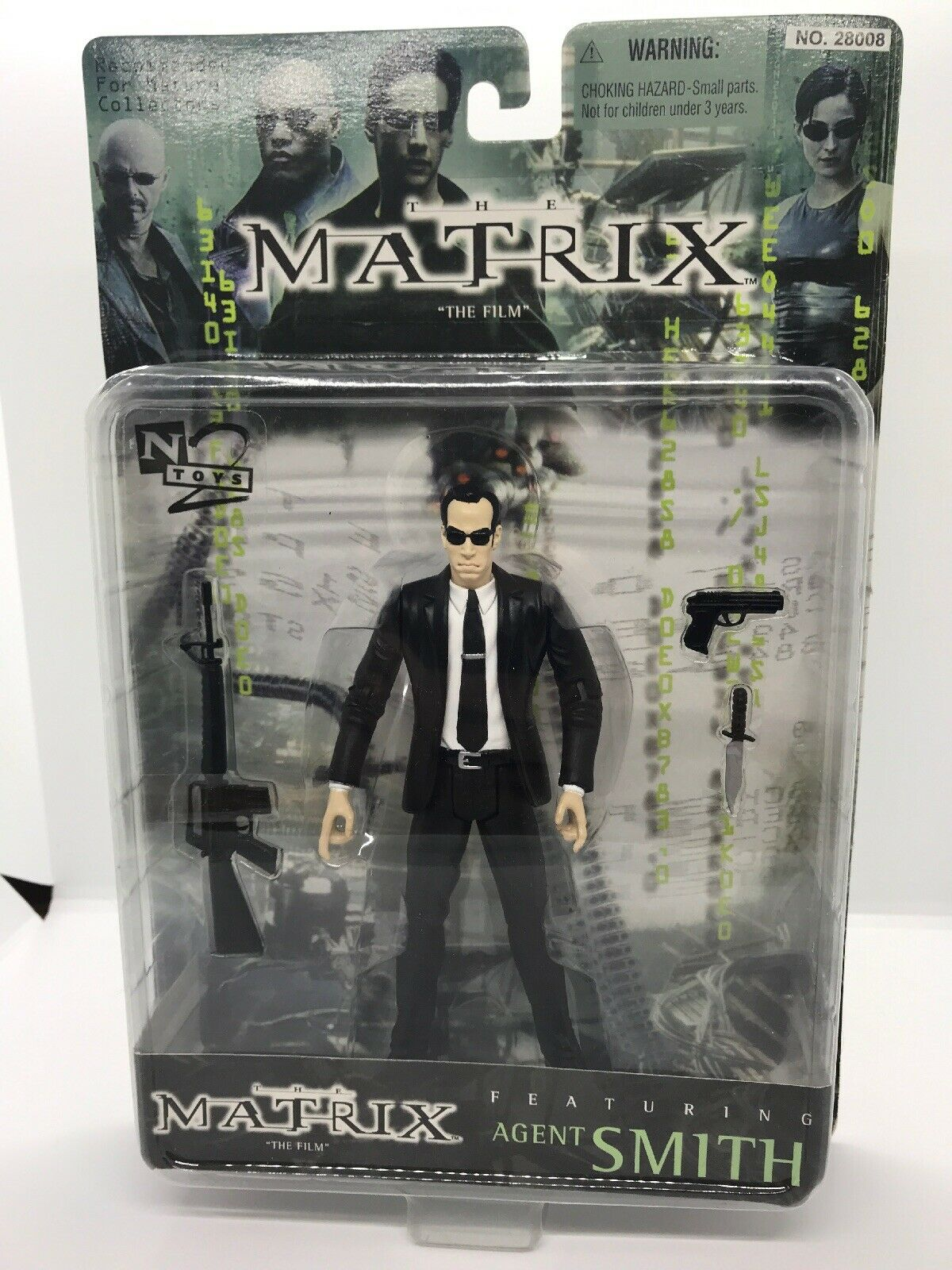 AGENT SMITH Action Figure THE MATRIX The Film N2 N2 N2 Toys 1999 37b0a6