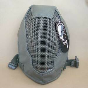 Airsoft-CS-Paintball-Extreme-Metal-Mesh-Full-Face-Protection-Mask-L879-RG