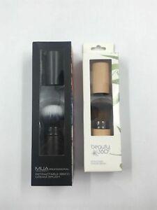 MUA + Beauty 360 Retractable Powder Brush Makeup Tools Accessories 2 MIxed Lot