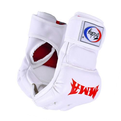 Boxing Muay Thai MMA Gloves Half Finger Fighting Martial Arts Punching Mitts