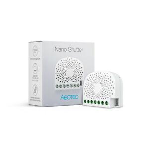 Details about AEOTEC Z-Wave Plus Nano Shutter ZW141