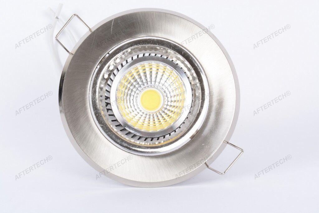 10x 10x 10x COB 5w FARETTO LED DA INCASSO 120° BIANCO CALDO WARM GU10 220v | Outlet Online  d7208e