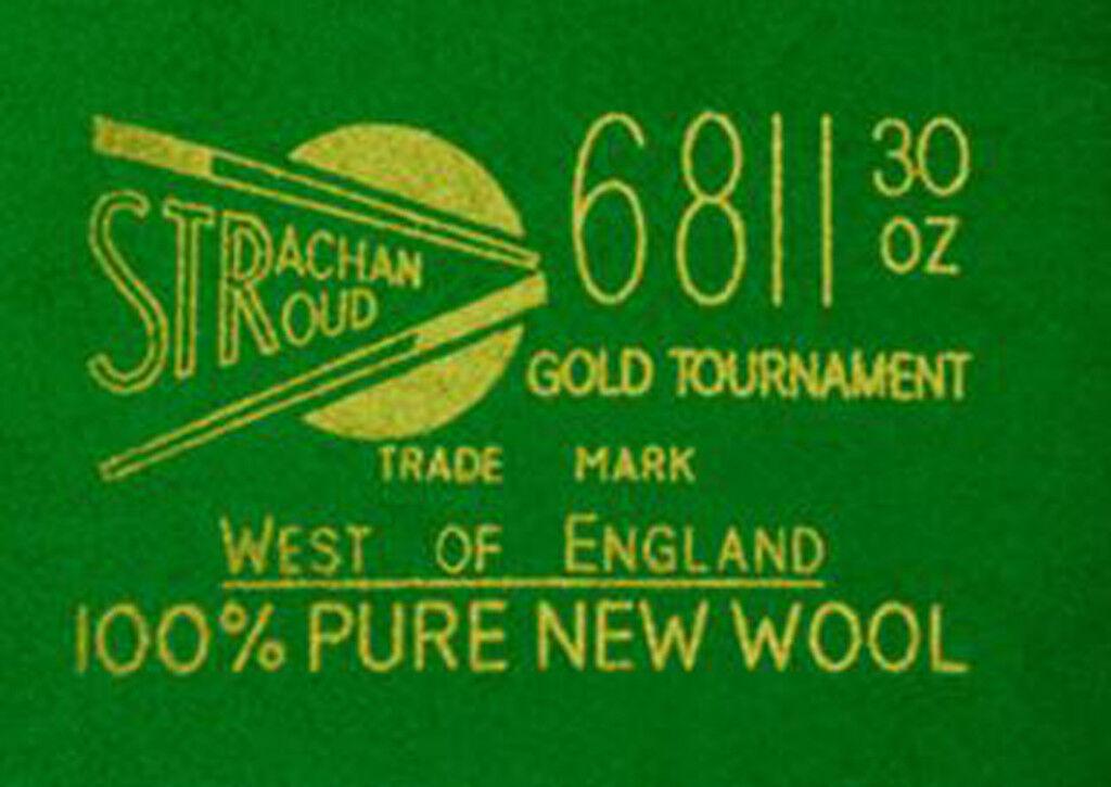 Strachan - Paño de Billar Oeste de Inglaterra - 6811 oro Tournament
