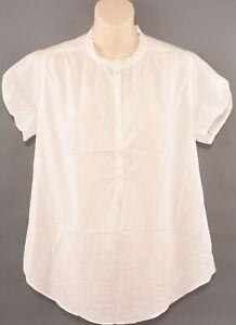 LACOSTE-Women-039-s-Floral-Print-Cotton-Blouse-Cream-size-UK-14-FR-42