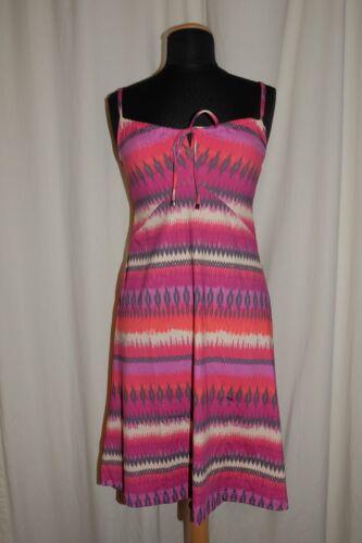 CYELL Trägerkleid Strandkleid Badekleid DRESS Cap Ferrat lila//rot multicolor NEU