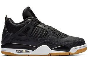 Mens-Air-Jordan-4-IV-Retro-SE-Laser-Black-Gum-Light-Brown-White-Red-CI1184-001