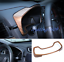 Peach Wood Grain Dashboard Decorative Frame Trim Fit For Honda CRV CR-V 2017-18