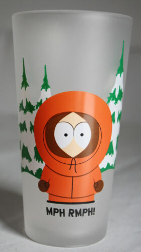 """VERY RARE 2000 SOUTH PARK DRINKING GLASS KENNY MCCORMICK 13cm//5/"""" HIGH NEW !"""