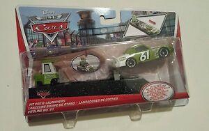 CARS-Disney-pixar-cars-VITOLINE-nr-61-lancio-pit-stop-2013-raro-1-55-mattel