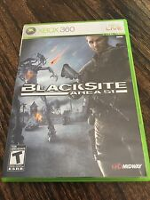 Blacksite Area 51 Xbox 360 Cib Game XG3