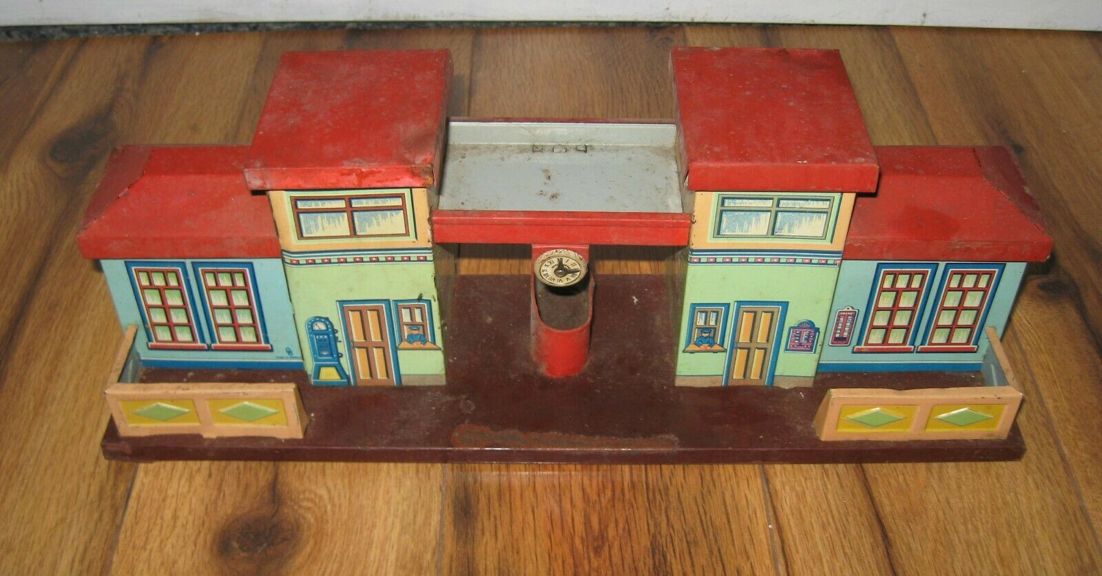 Estación Baker Bub, Bub, Bub, casiterita alemana, antigüedades raras, Vtg Bing kb marklin. 6ae