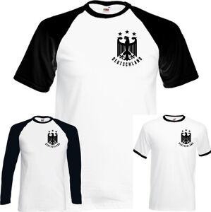 German-Football-T-Shirt-Mens-Germany-Deutschland-Unisex-Top-Soccer-World-Cup