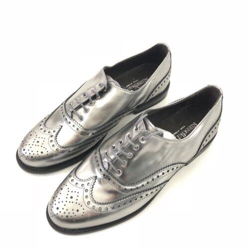 métallisé Jeeves Silver en Nouveau lacets cuir Brogue Royaume Oxford 5 en Uni Bromley à Russell cuir RwBqxq8p