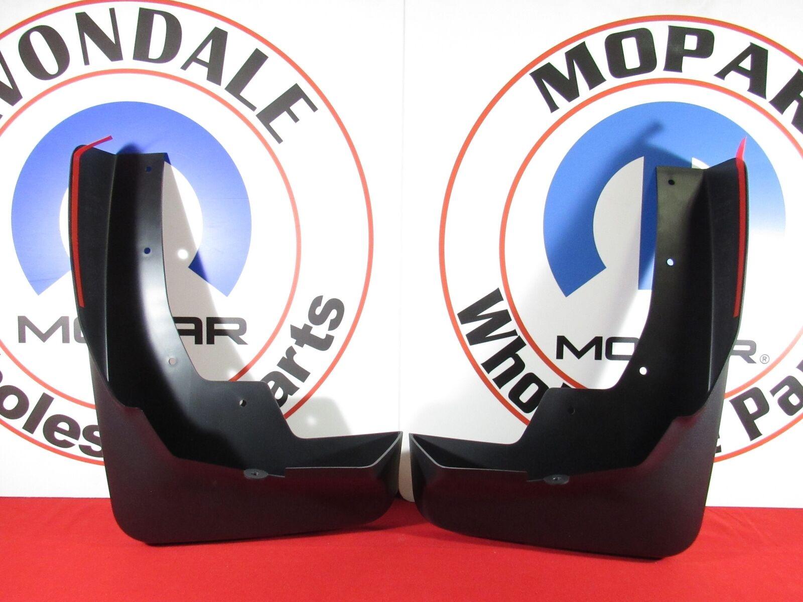 Genuine Mopar Molded Splash Guards Front 82215488AB