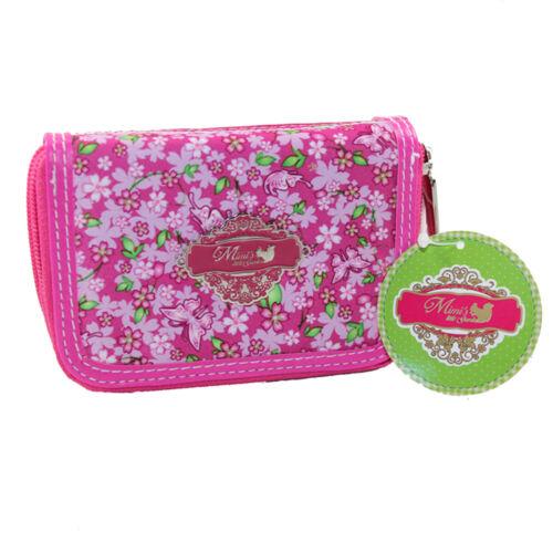 Mimi/'s little Garden Damen Geldbörse mit Reißverschluss Portemonnaie Geldbeutel