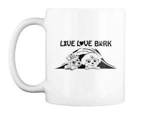 Maltese Live Love Bark - Gift Coffee Mug