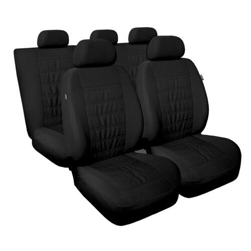 Universal Autositzbezüge Schwarz für Nissan Qashqai Sitzbezüge Set Schonbezug