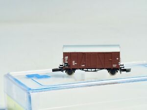 FR-2-ea-BOX-CAR-Era-III-49-334-01-German-DB-Z-scale-Freudenreich