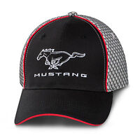Ford Mustang Honeycomb Gray Mesh Hat