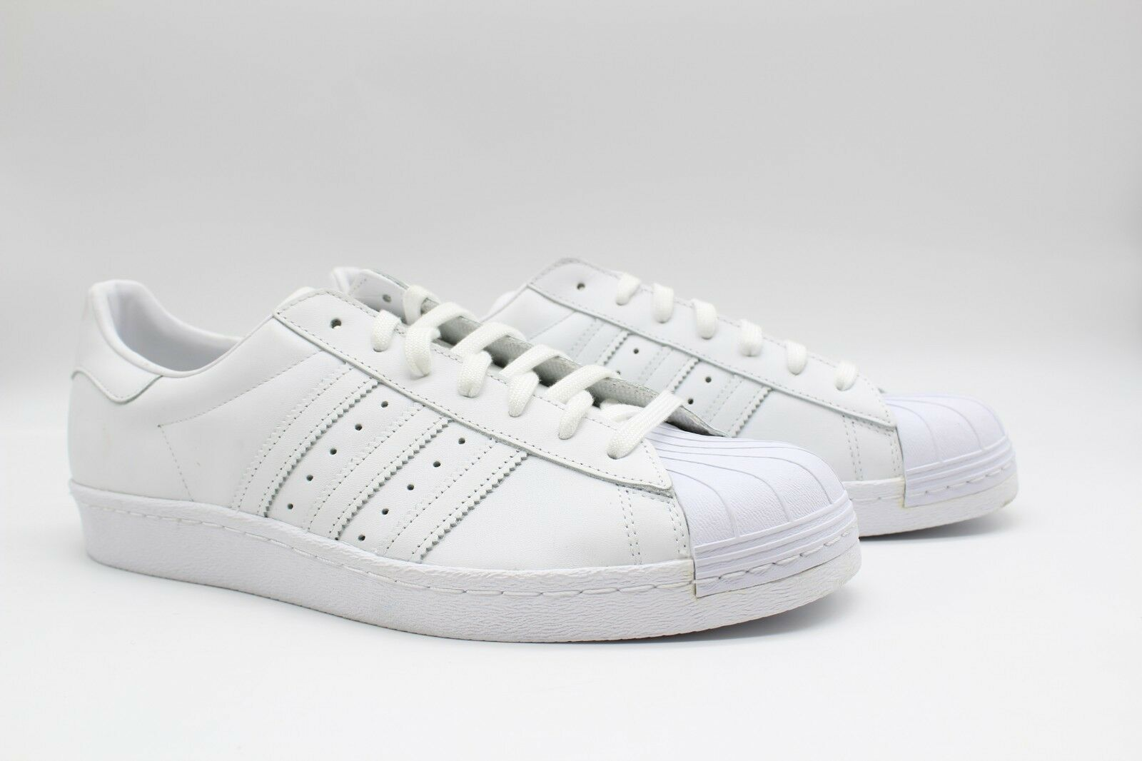 Adidas Men's Superstar '80s White S79443 NWOB