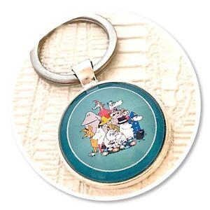 Moomins  keyring key ring Moomin & friends (a)