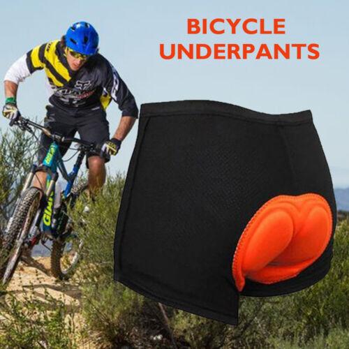 Herren Fahrradhose Radlerhose 3D Gel Fahrrad Gepolstert Unterhose Atmungsaktiv