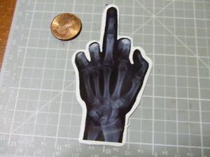 XRAY-HAND-GLOSSY-Sticker-Skateboard-phone-Laptop-Bombit-NEW