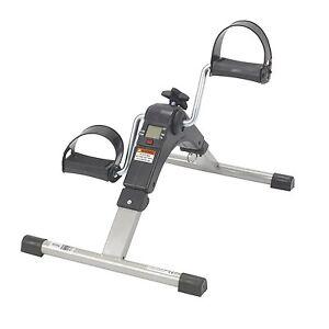 Image Is Loading Pedal Exerciser Under Desk Elliptical Bike Pedometer Leg