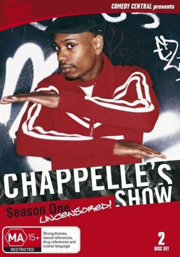1 of 1 - Chappelle's Show - Uncensored : Season 1 (DVD, 2011, 2-Disc Set)-FREE POSTAGE