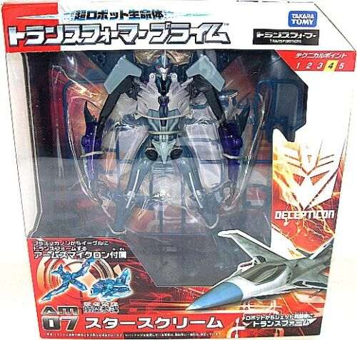 TAKARA TOMY TRANSFORMERS Prime Arms Micron AM-07 Starscream Japan Authentic NEW