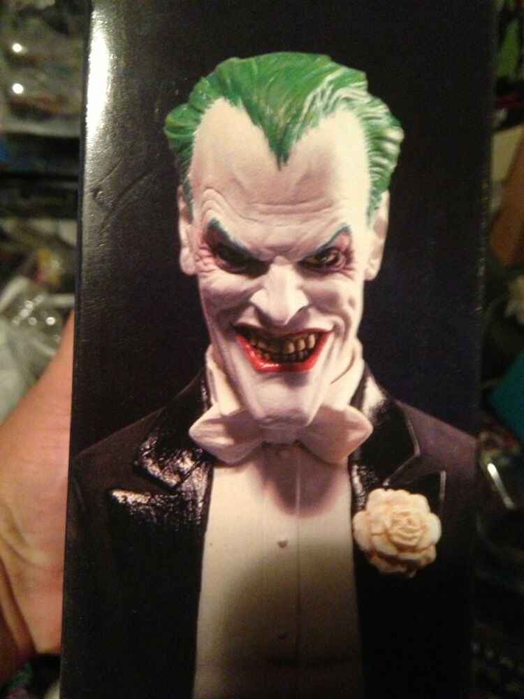 Joker By Alex Ross Ross Ross Dc Direct Justice League Ser Very Rare Alex Ross As Joker eae758