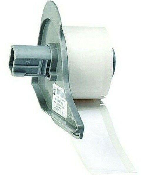 "Nylon Cloth Roll of 250 1/"" White Printer Label 3TP70 BRADY WML-511-499"