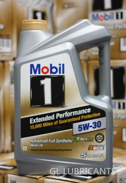 Mobil 1 EP Engine Oil 5W30 4.73 Liter /5 Qt Bottle  [Melbourne Address ONLY]