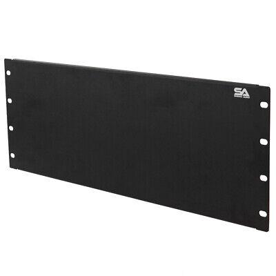 "2 Space Blank Server Network PA//DJ Rack Case Spacer 2U 19/"" Rack Mount Panel"