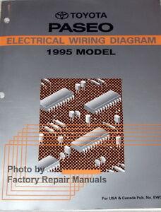 1995    Toyota    Paseo Electrical Wiring Diagrams Original