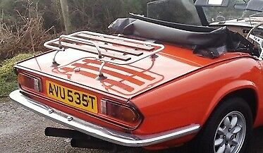 MX5 MK1//2  MGB /& TF Car Luggage boot Rack New Alu//Wood