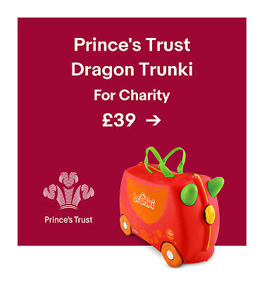 Prince's Trust Dragon Trunki. For Charity. £39.