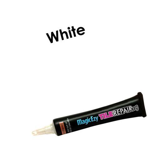 blanc fix et couleur tuile Fissures et chips in se... Magicezy Tile repairezy
