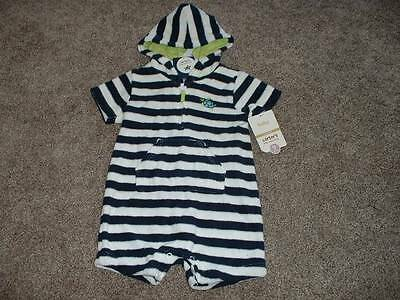 Carter's Baby Boys Turtle Romper Outfit Size 9 Months 9M NWT NEW Clothes 6-9 mos