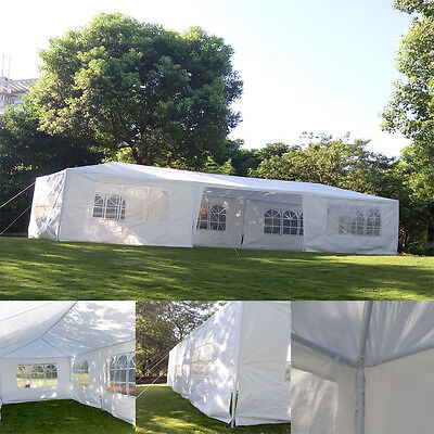 7 Sidewall 10'x30' Canopy Party Wedding Tent Outdoor Gazebo Pavilion Cater Event