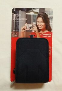 Manfrotto-Zip-Point-and-Shoot-Camera-Case-Bag-Heavy-Duty-Black-FAST-SHIPPING