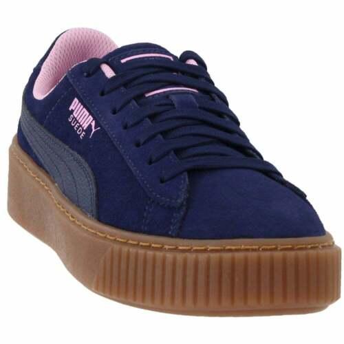 Big Kid Puma Suede Platform Radicals Sneakers Casual   Sneakers Blue Boys