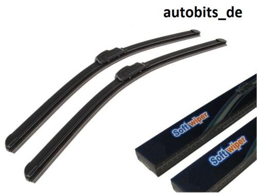 2x Aero soft Flat essuie-glace pour renault vw Chrysler 18//21 Nouveau