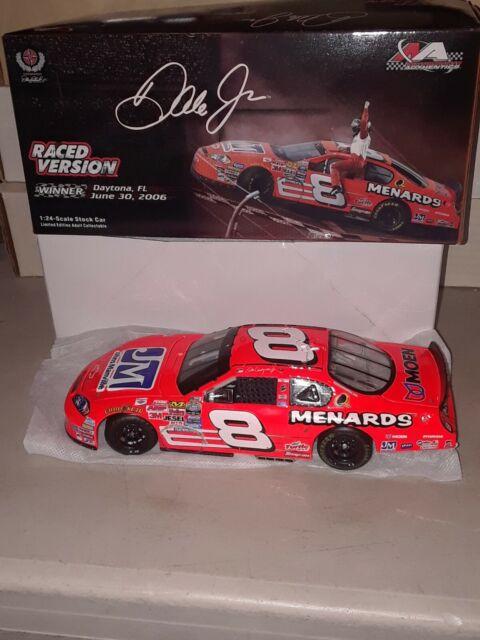Dale Earnhardt Jr  8 Menards Daytona Raced Win 2006