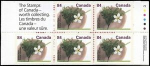 CF3049-Canada-1991-Booklet-Stanley-Plum-5x0-84-MNH