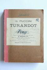 Peters Tosca Puccini Italienisch fest gebunden Klavierauszug deutsch