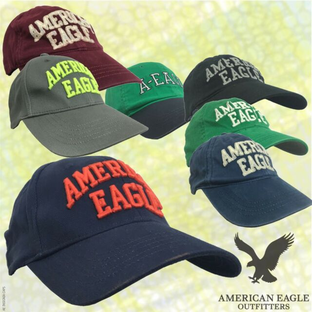 American Eagle Outfitters Selection of Snapback Baseball Caps Navy ... 1879a54dd797
