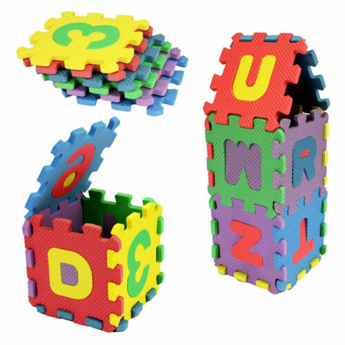 36 PCs Infant Alphanumeric Education Jigsaw Puzzle Mat Infant Toys And Gifts