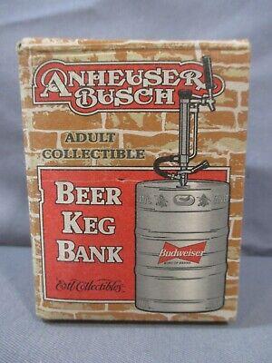Die Cast Metal Cerveza De Barril Keg Banco Anheuser Busch Ertl Adulto Collectibles 2000 Ebay